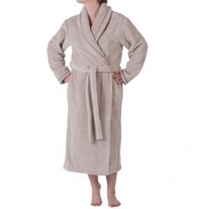 Robe de chambre femme brodée LIN