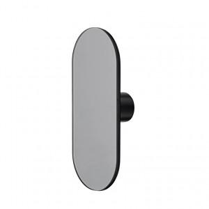 Patère miroir DECO NOIR