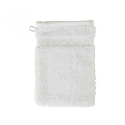 Gant de toilette coton Lola II blanc