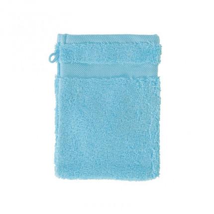 Gant de toilette coton Lola II turquoise