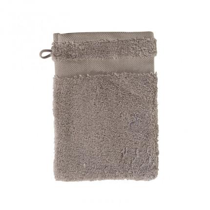 Gant de toilette coton Lola II vison