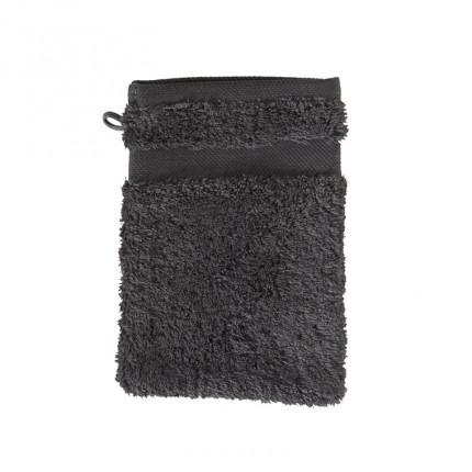 Gant de toilette coton Lola II anthracite