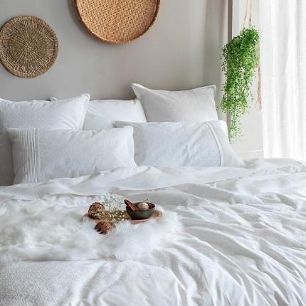 Parure de lit percale de coton Amanda bohème