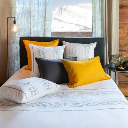 Parure de lit percale de coton Brume