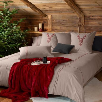 Parure de lit coton Aravis