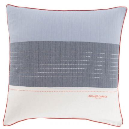Taie d'oreiller carrée coton Auteuil - Roland Garros