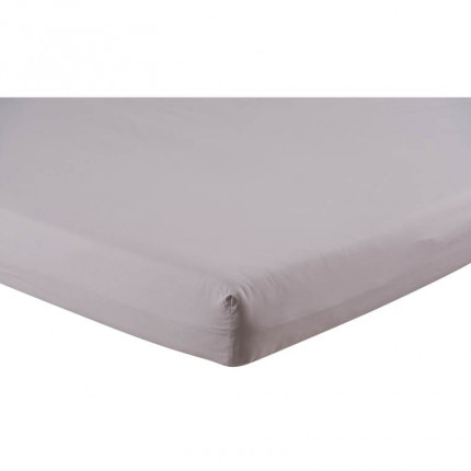 Drap housse percale de coton uni Bellagio