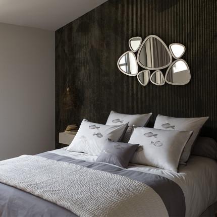 Parure de lit percale de coton imprimée Bellagio