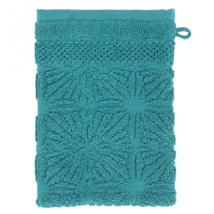 Gant de toilette coton Chiara vert