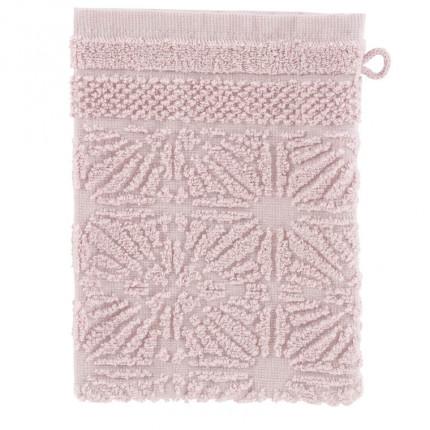 Gant de toilette coton Chiara poudre