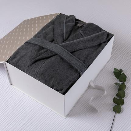 Coffret cadeau peignoir homme Osmose fusain