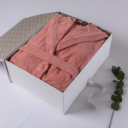 Coffret cadeau peignoir femme coton bio Osmose pétale