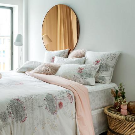 Parure de lit percale de coton Cybèle