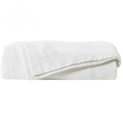 Boutis coton biologique Dolce blanc