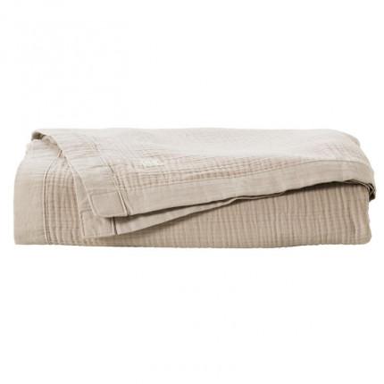 Boutis coton biologique Dolce grège