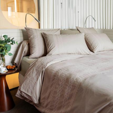 Parure de lit percale de coton HONOREE