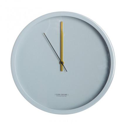 Horloge murale DECO BLEU
