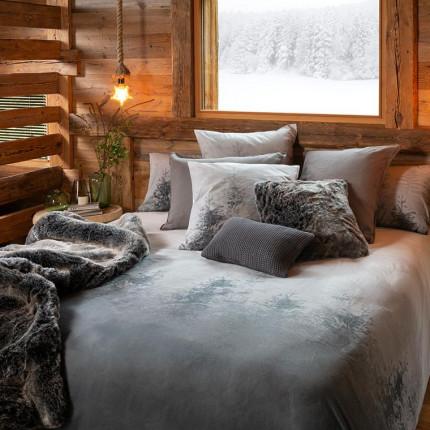 Parure de lit percale de coton Ietu chalet