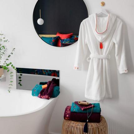 Parure de bain coton Indie