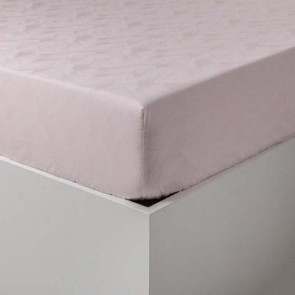 Drap housse percale de coton imprimé tropical Jalapao