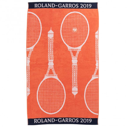Serviette de plage Roland Garros 2019 orange