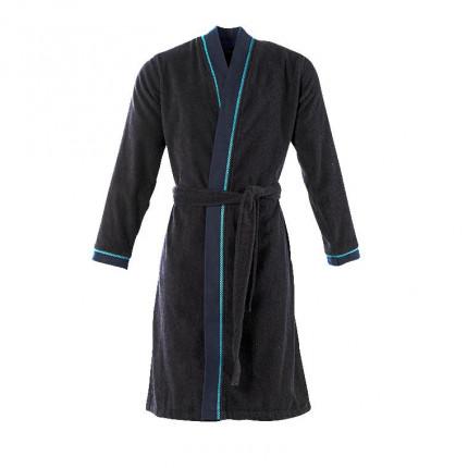 Peignoir kimono homme KYRIEL bleu marine