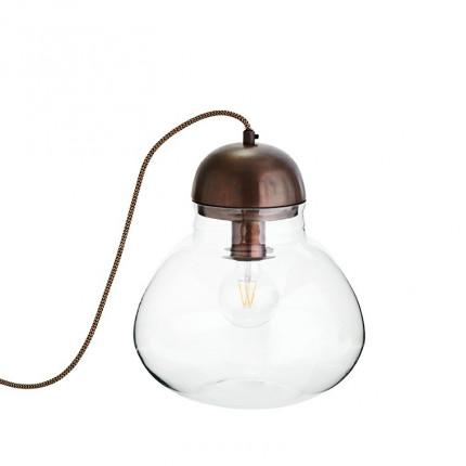 Lampe boule DECO CUIVRE