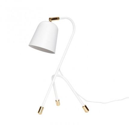Lampe bureau 3 pieds DECO BLANC