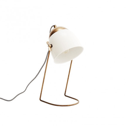 Lampe neo DECO BLANC
