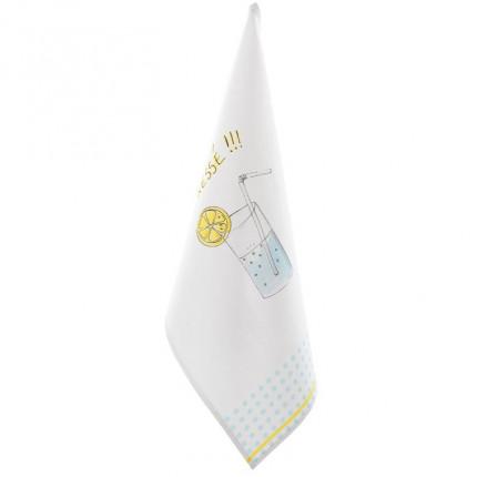 Essuie-verre Limonade blanc