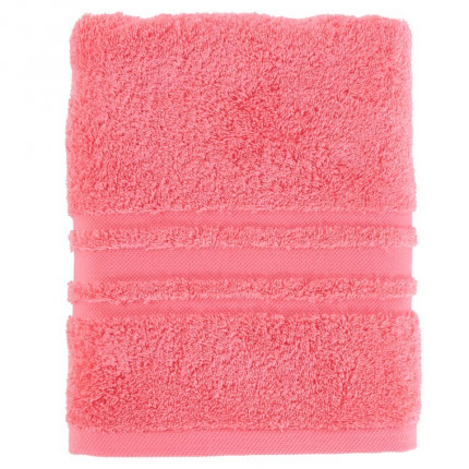 Drap de bain coton Lola II rose