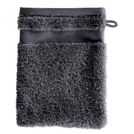 Gant de toilette coton Lola II ardoise