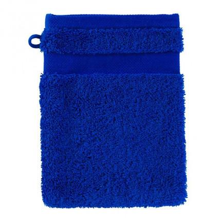 Gant de toilette coton Lola II cobalt