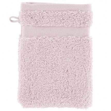 Gant de toilette coton Lola II poudre