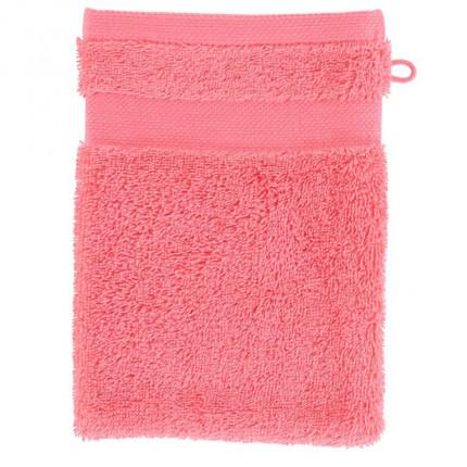 Gant de toilette coton Lola II rose