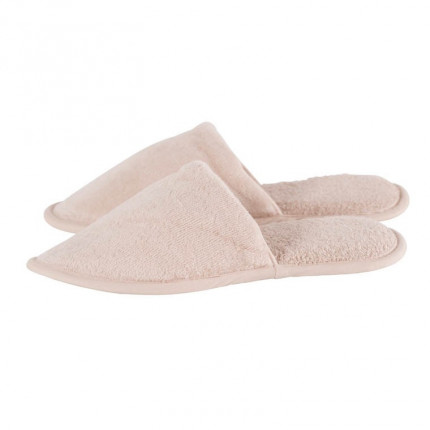 Chaussons mules femme coton Lola lin
