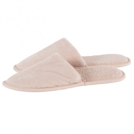 Chaussons mules homme coton Lola lin