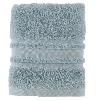 Serviette de toilette coton Lola II argile