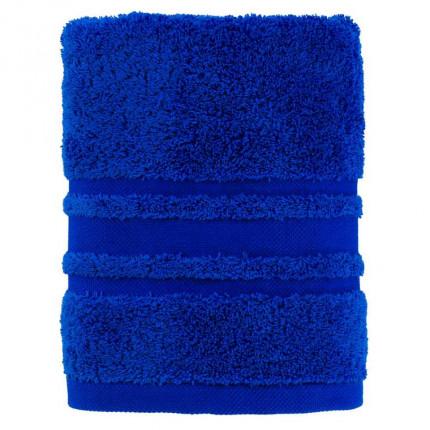 Serviette de toilette coton Lola II cobalt