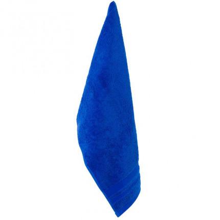 Serviette invité coton Lola II cobalt