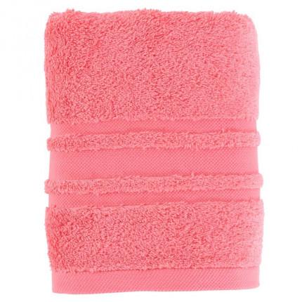 Serviette de toilette coton Lola II rose