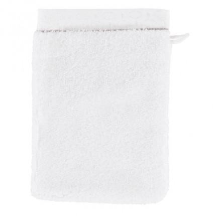 Gant de toilette coton Maestro blanc