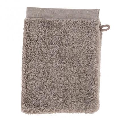 Gant de toilette coton Maestro taupe