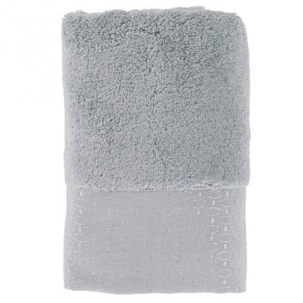 Serviette de toilette coton Maestro gris