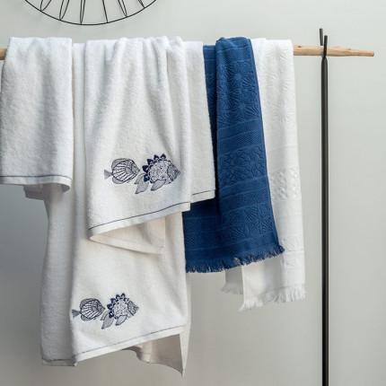 Parure de bain coton Mahoa