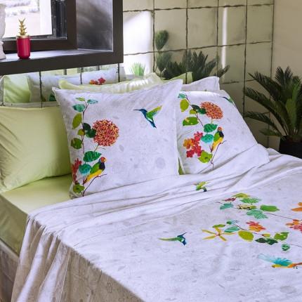 Drap de lit coton peigné Manaus