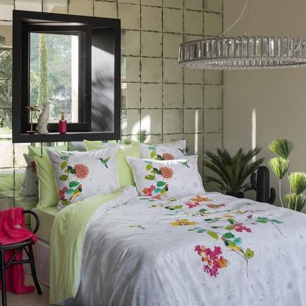 Parure de lit coton peignée Manaus