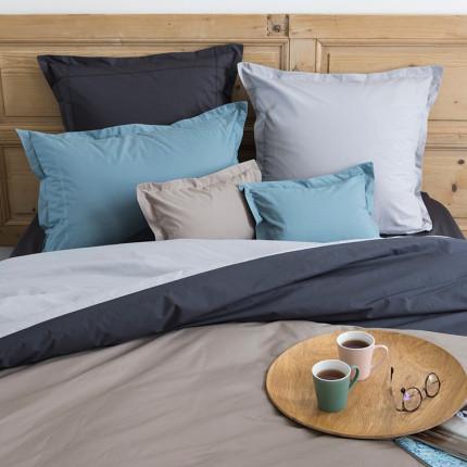 Parure de lit percale de coton MEZZO