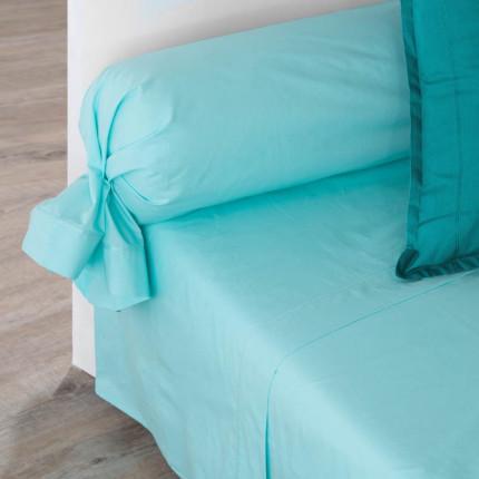 Drap de lit percale de coton Neo lagon