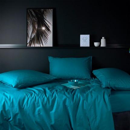 Parure de lit en percale de coton Neo canard